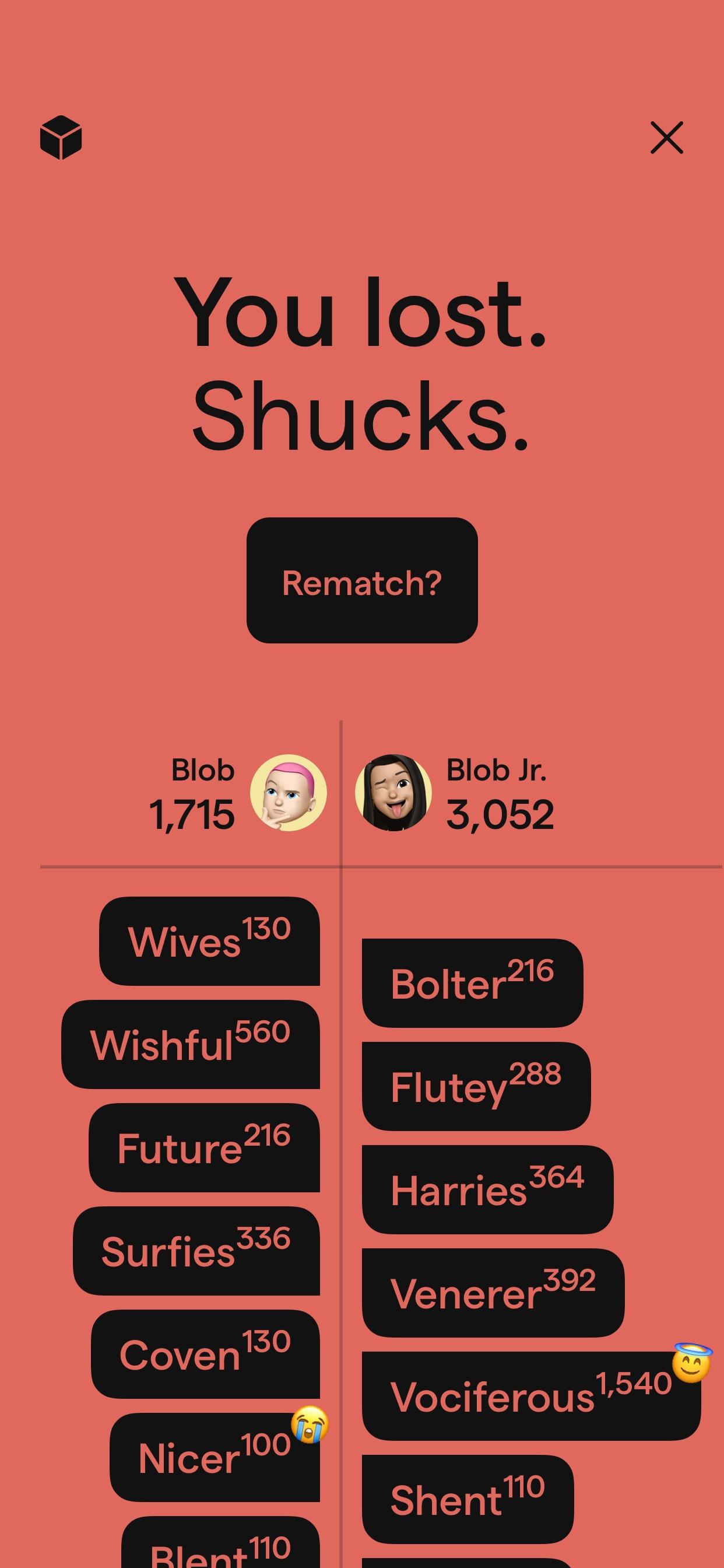 isowords product screenshot